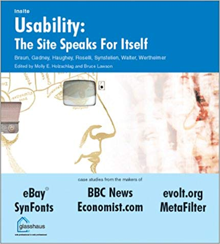 Expert advisor: Usability: The Site Speaks for Itself